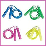 Rhode Island Novelty Neon Jump Rope Assortment (12-Pack)