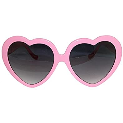 Amazon.com: Lolita Heart Shaped Sunglasses, in Pink: Shoes