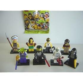 ���S �~�j�t�B�M���A �V���[�Y 3 �T�C�h B �S8�� LEGO �����̒��S8�� 1 �G�C���A�� 2 �F���̈��� 3 �~�C��