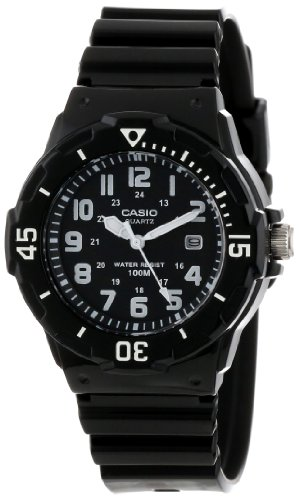 Casio Women's LRW200H-1BVCF Dive Series Diver Look Analog Watch