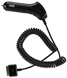 AT&T 12193 iPhone 4/4S Car Charger with USB Port - Original - Retail Packaging - Black