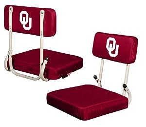 Oklahoma Sooners Hardback Stadium Seat from Logo
