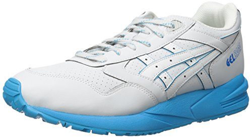 ASICS Men's GEL Saga Retro Running Shoe, Soft Grey/Soft Grey, 11 M US