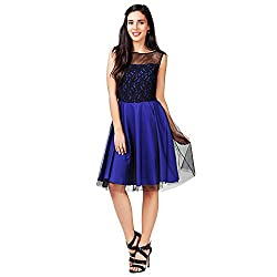Eavan Women's Party Wear Exclusive Polyester Dress