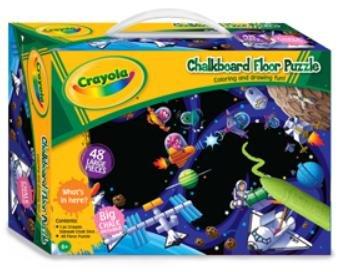 Crayola Chalkboard Floor Puzzle Space Zone - 1