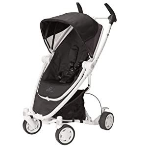 Quinny Zapp Xtra Stroller with Folding Seat, Black Irony