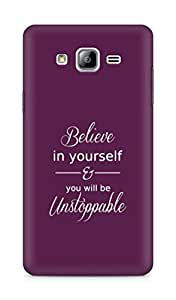 AMEZ believe in yourself and you will be unstoppable Back Cover For Samsung Galaxy ON7
