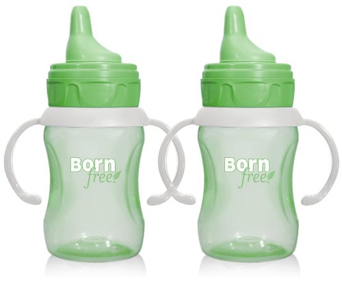 Summer Infant Training Cup, Green, 7 Ounce, 2 Pack
