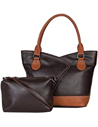 ADISA Women's Handbag With Sling Bag - B01MRXAIYU