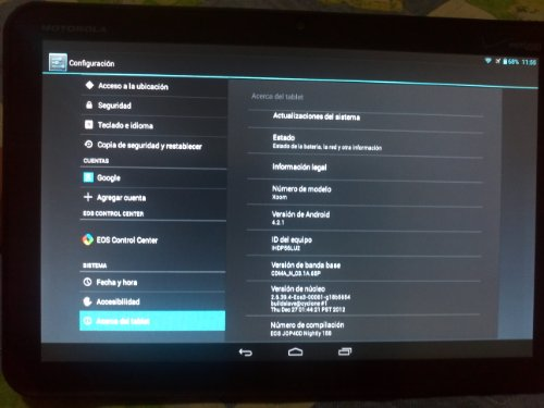 Motorola Xoom 32GB MZ600 Verizon 3G + WiFi 10.1 Inch Used Camera Android Tablet