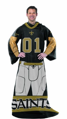 NFL New Orleans Saints Full Body Player Comfy Throw at Amazon.com
