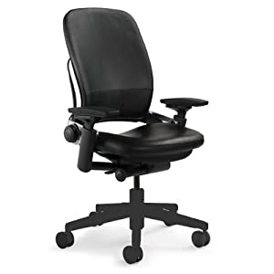 leap leather chair black adjustable home desk chairs super cheap