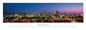 San Antonio, Texas - Panoramic Print - Poster