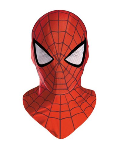 Spiderman Adult Deluxe Mask Halloween Costume - Most Adults