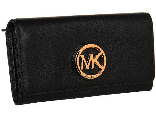 MICHAEL Michael Kors Fulton Carryall Wallet Black