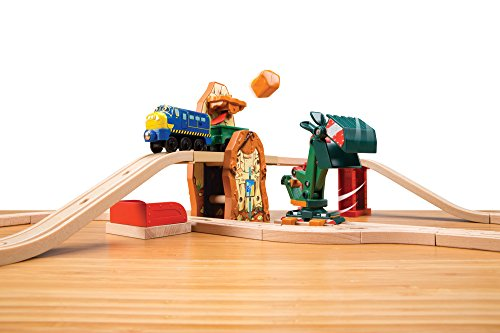 Chuggington Wooden Railway Mine Excavator Set