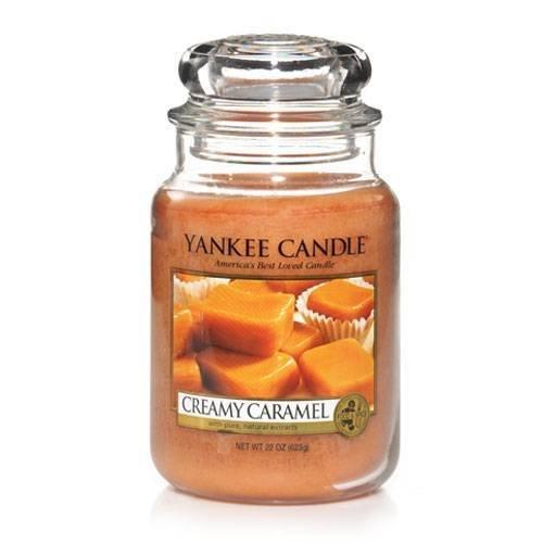 Yankee Candle Creamy Caramel Large Jar Candle