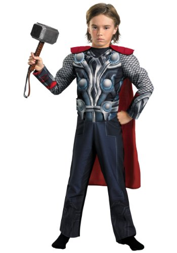 Avengers Thor Muscle Light Up Costume