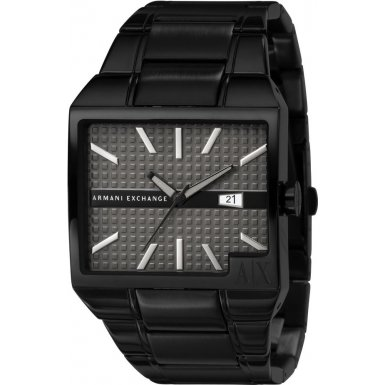 Armani Exchange AX2067 Mens ROME All Black Watch