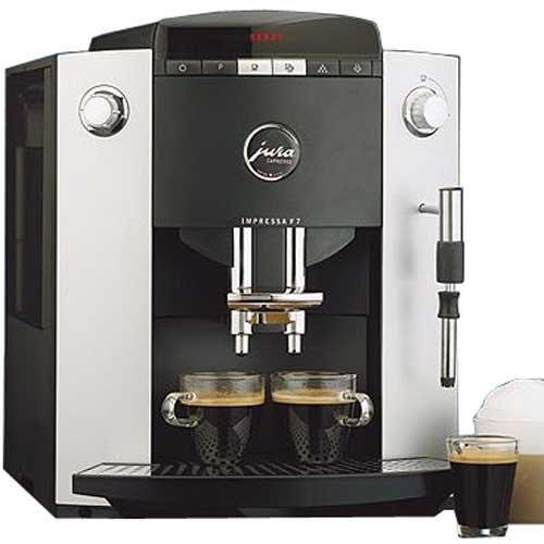 Jura-Capresso 13185 Impressa F7 Espresso Machine, Silver Metallic