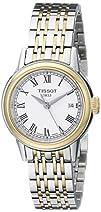 Tissot Womens T0852102201300 Carson Analog Display Swiss
