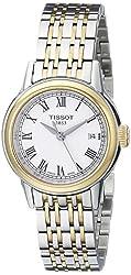 Tissot Women's T0852102201300 Carson Analog Display Swiss Quartz Two Tone Watch