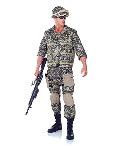 Underwraps Men's Plus-Size U.S. Army Ranger DLX Adult
