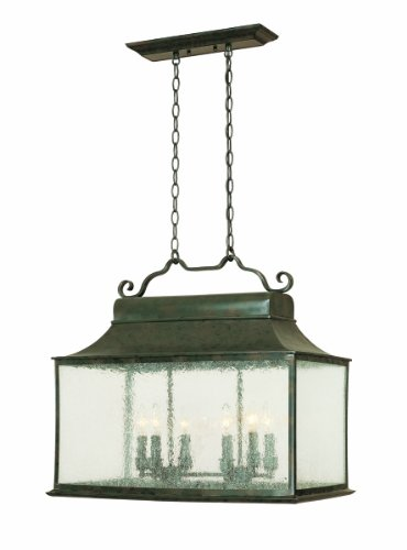 World Imports 9005-06 Dark Sky Rever Collection 6-Light Island Light, Flemish