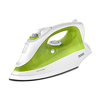 USHA STEAM IRON TECHNE X'PRESS 1500 (WHITE+GREEN) 1800 WATTS