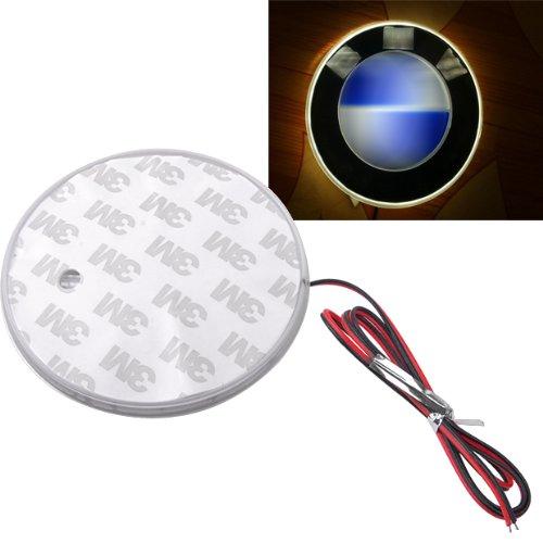 White Led Car Decal Logo Light Badge Lamp Emblem Sticker 82Mm For Bmw 1 3 5 7 Series X3 X5 X6 Z4 M3