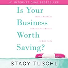 Is Your Business Worth Saving?: A Step-by-Step Guide to Rescuing Your Business and Your Sanity Audiobook by Stacy Tuschl Narrated by Christy Meyer
