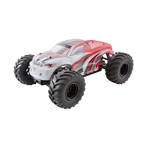 XciteRC-30309200-Ferngesteuertes-RC-Auto-Monster-Truck-one-10-4WD-RTR-Modellauto-M110-rot