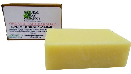 Organic Baby Bar Soap