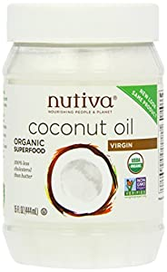 Nutiva Organic Extra Virgin Coconut Oil 444 ml