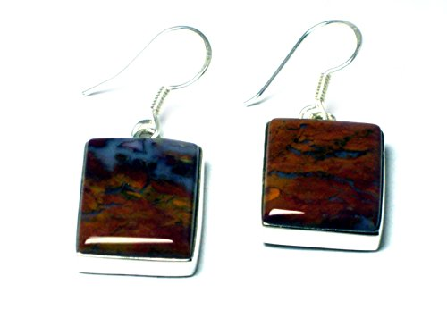 ocean-jasper-sterling-silver-925-rectangular-drop-earrings