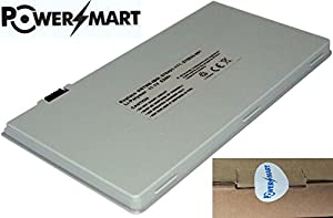 PowerSmart® 11.1V 4800mAh Li-Polymer 53Wh 6 Cell Laptop Battery for Replacement for HP Envy 15t-1000, HP Envy 15 Series, (Fits selected models only), Compatible Part Numbers: 570421-171, 576833-001, HSTNN-IBOI, HSTNN-XBOI