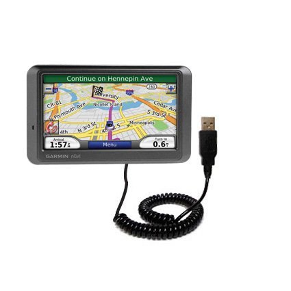 Coiled Cable Garmin Nuvi Power Sync on best buy gps nuvi garmin