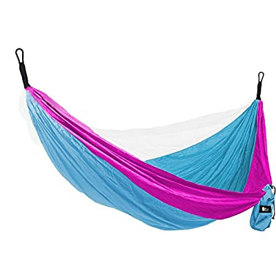 """#1 Double Parachute Camping Hammock By Bear Butt *START UP COMPANY """"Shaking The Eagle Out Of The Nest Since 2015"""""""