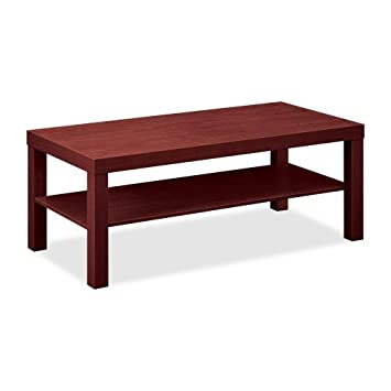 "Basyx by HON BLH3160 Coffee Table - Rectangle - 20"" x 16"" x 42"" - Mahogany"