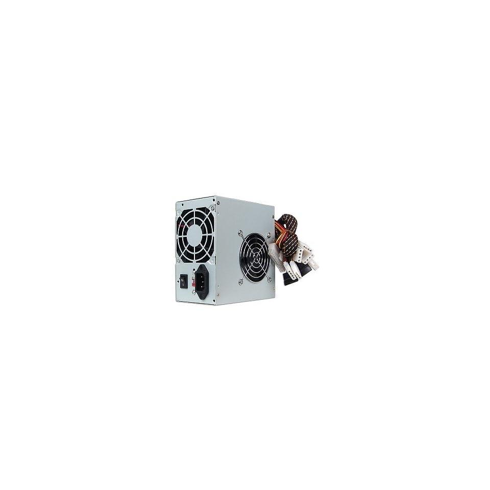 A Power 600W 20+4 pin Dual Fan ATX PSU w/SATA