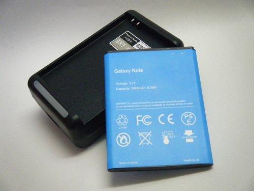 GALAXY Note SC-05D NTT docomo 充電器 予備電池 バッテリー 2400mAh