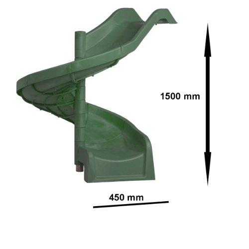 Imagen 3 de Diapositiva espiral creciente tolva verde