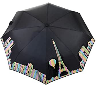 parapluie qui change de couleur sous la pluie panorama de paris souvenirs de france amazon. Black Bedroom Furniture Sets. Home Design Ideas