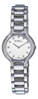 Ebel Women's 9003N18/691050 Beluga Silver Diamond Dial Watch