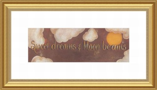 Barewalls Wall Decor, Sweet Dreams and Moon Beams