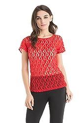 Kazo Women's Body Blouse Shirt (109117FLMSTM)