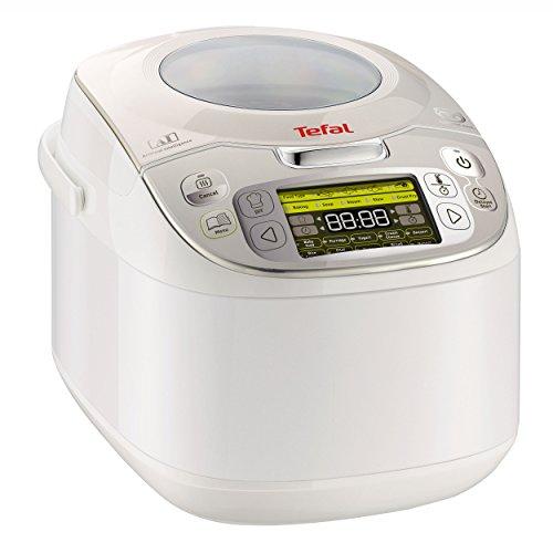 Tefal-RK8121-Multicooker-45-in-1-750-W-5-L-Kapazitt-45-Kochfunktionen-Warmhaltefunktion-LC-Display-inklusiv-Rezeptbuch-wei
