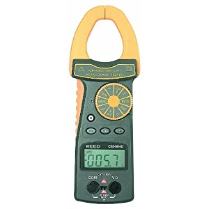 Reed CM-9940 TRMS Clamp Meter, 24 Megaohms Resistance, 600A AC/DC Voltage, 600A AC/DC Current at Sears.com
