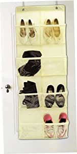 8 Pocket Over The Door Storage