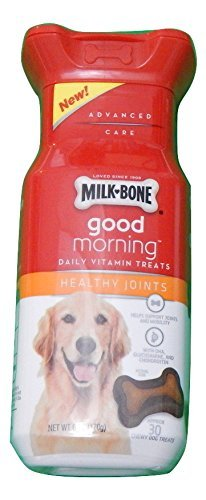 milk-bone-good-morning-healthy-joints-daily-vitamin-dog-treats-6-oz-bottle-by-milk-bone